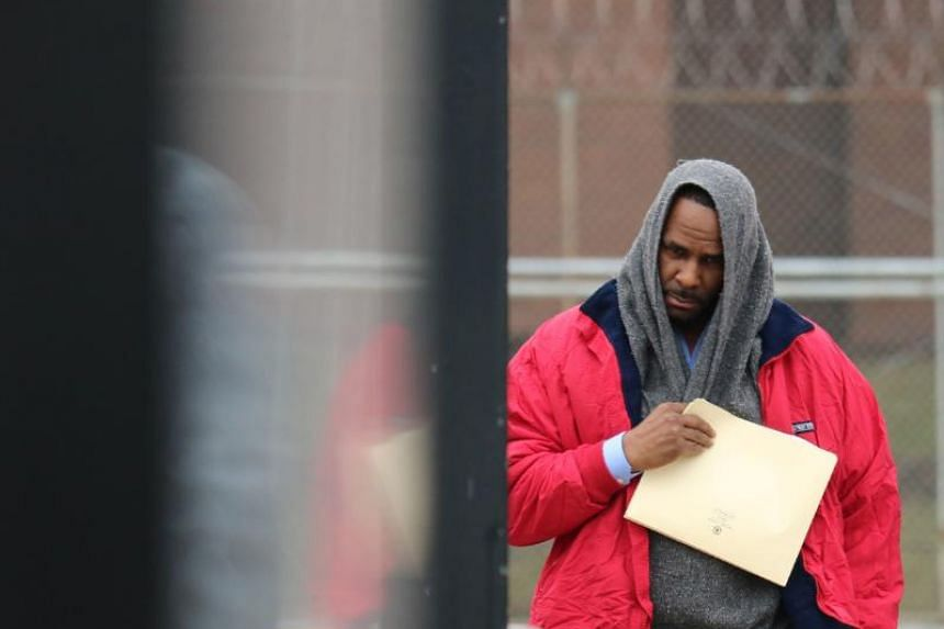 Singer R. Kelly after being freed from Cook County jail in Chicago, Illinois, on March 9, 2019.