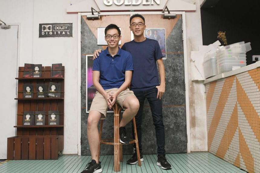 Ex-trader Sherman Ho (left) and former Jurong Junior College vice-principal Simon Leow hope that the films and dialogues from the Happiness Film Festival will promote interest and awareness in happiness and well-being.