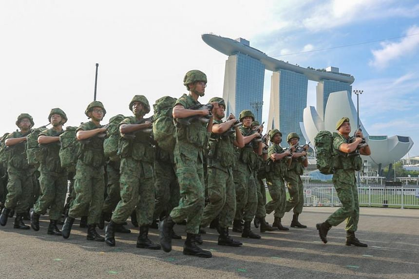 The latest batch of Singapore Armed Forces army recruits graduated on March 9, 2019, after completing a shorter 12km route march. Previously, recruits would undertake a 24km graduation march.
