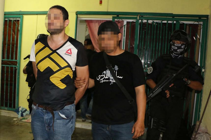 The militants were arrested in February 2019 in the latest round of anti-terror operations by Malaysian police's intelligence department.