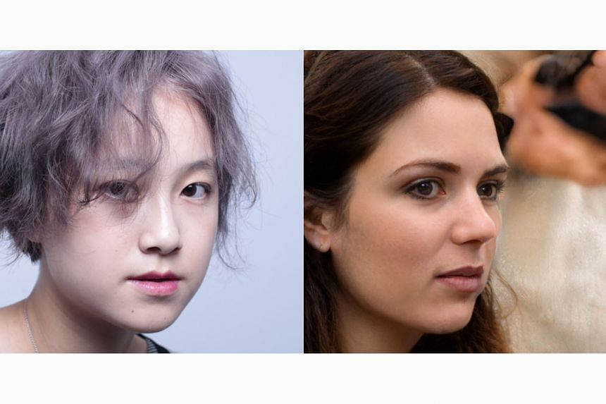 The photo on the left is real while the one on the right is AI-generated. The WhichFaceIsReal site features photos of real people alongside AI-generated fakes of people who do not even exist. Computer-generated fakes - unlike digitally altered pictur