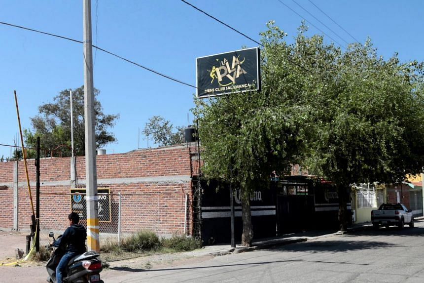 The armed assailants fled the La Playa club - located in a residential and commercial area of the city - in an escape car, prosecutors said, adding that an investigation had been opened.