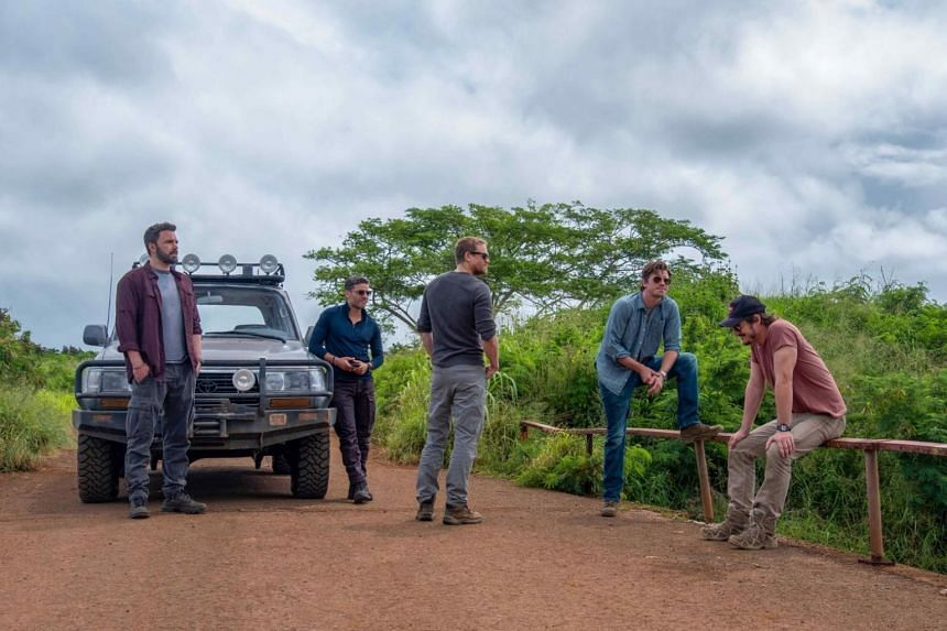 A still from the Netflix movie Triple Frontier.
