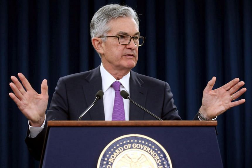 US Federal Reserve chief Jerome Powell said in an interview that the central bank will be looking for signs that American consumer spending bounced back from a weak end to 2018.