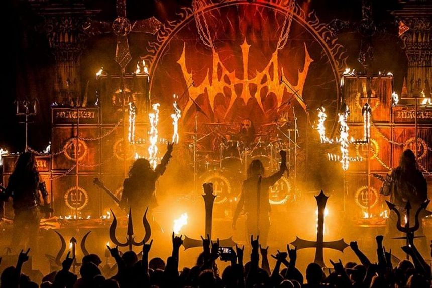 Swedish black metal band Watain, whose 2013 album The Wild Hunt topped the Swedish music charts, were set to play their debut Singapore concert on March 7, 2019.