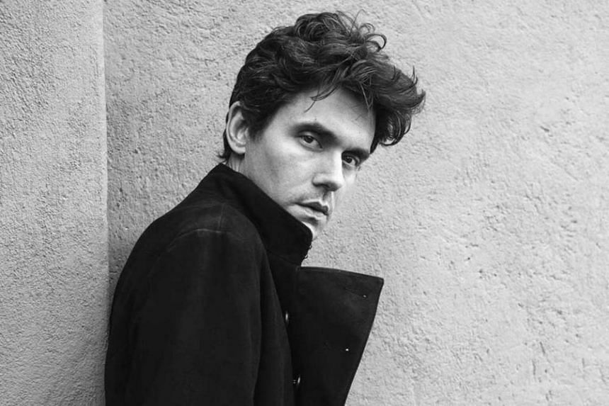 Grammy-winning singer John Mayer will be making his debut show here on April 1.