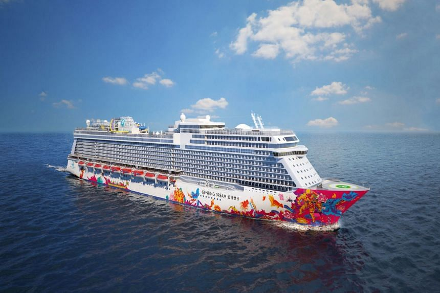 Experience the luxury Genting Dream liner like a queen. PHOTO: DREAM CRUISES