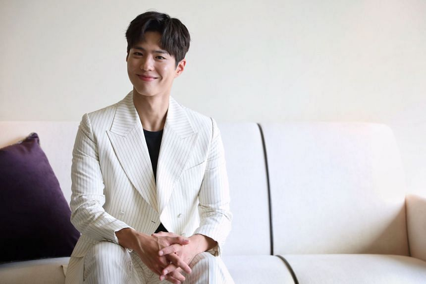 Park Bo-gum, who is touring Asia for fan meets, is working on a new movie where he plays a cloned human.