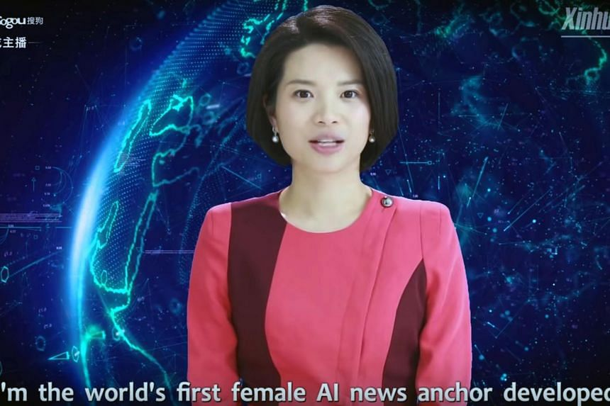 Xin Xiaomeng began working as the world's first female artificial intelligence news anchor at Xinhua News Agency on March 3, 2019.