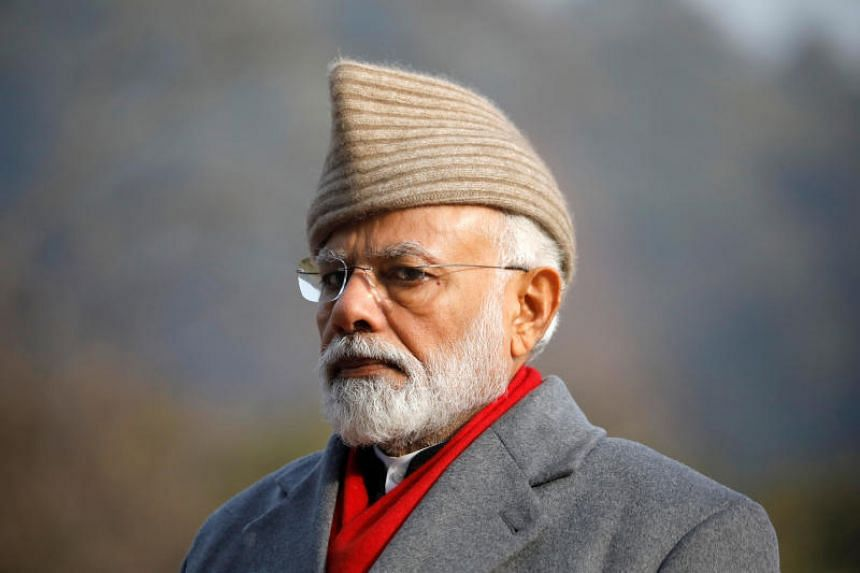 Most ads included a picture of Indian Prime Minister Narendra Modi and highlighted government initiatives from rural development and solar power to airport infrastructure and social security benefits, among others.
