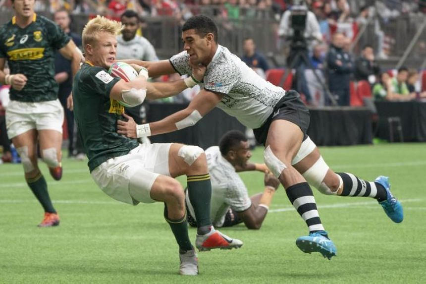 Defending World Series champions South Africa beat France 21-12 to take the trophy on March 10, 2019.