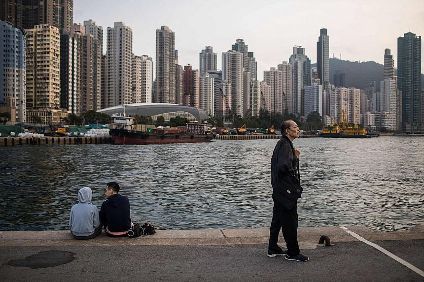 Hong Kong leader Carrie Lam said participation in the bay area will not weaken Hong Kong's independent tariff status. The Pearl River in Guangzhou, Guangdong province, China. Under the plan unveiled last month, Hong Kong and Macau will be linked clos