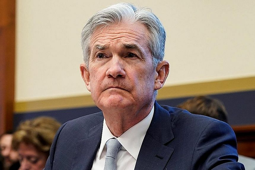 Mr Jerome Powell says the Fed will be looking to see if spending in the US has popped back up in January.