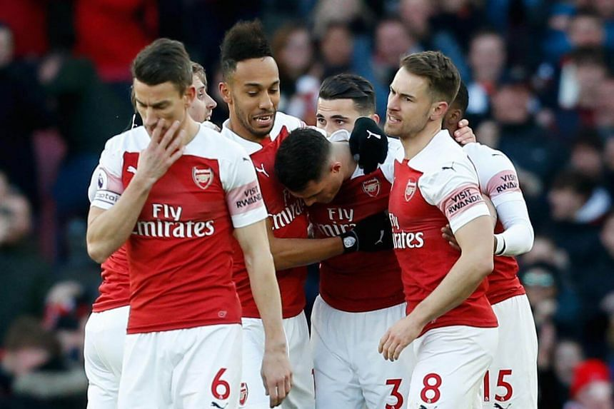 A 10-point gap between Arsenal and Spurs has been whittled down to one in the space of four games after three defeats and a draw for the latter.