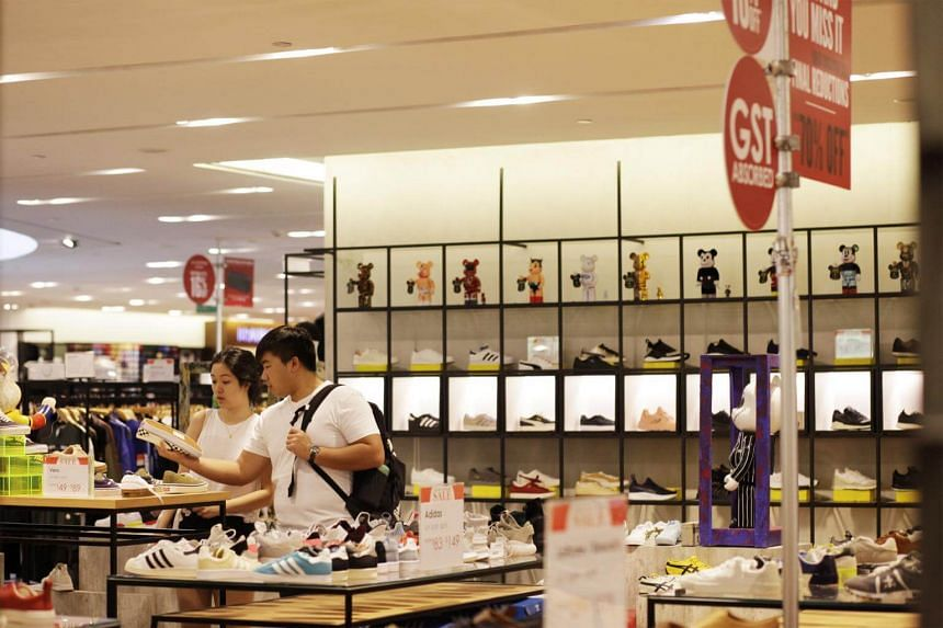 On a seasonally adjusted basis, retail sales edged up 0.2 per cent month on month in January.