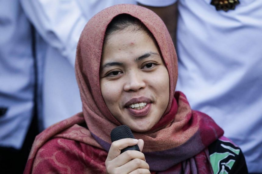 Jokowi Urges Siti Aisyah to Temporarily Stay Put at Home