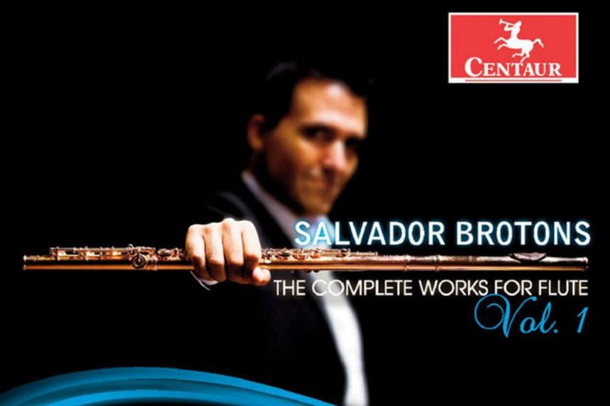 The concluding two volumes of flute music by Catalan composer-conductor Salvador Brotons feature all his wind music which include the flute.