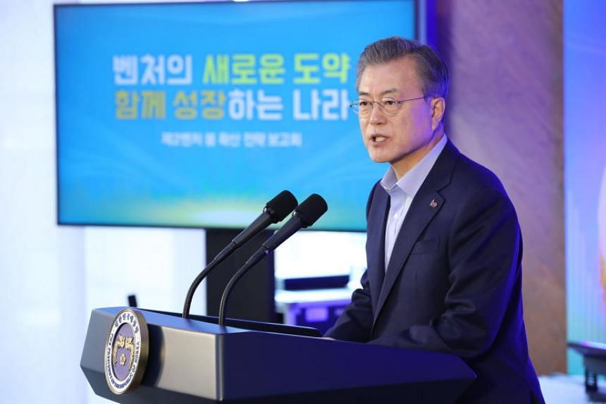 President Moon Jae-in's administration is seeking reconciliation with the North, against the US' position to increase pressure on the communist state.