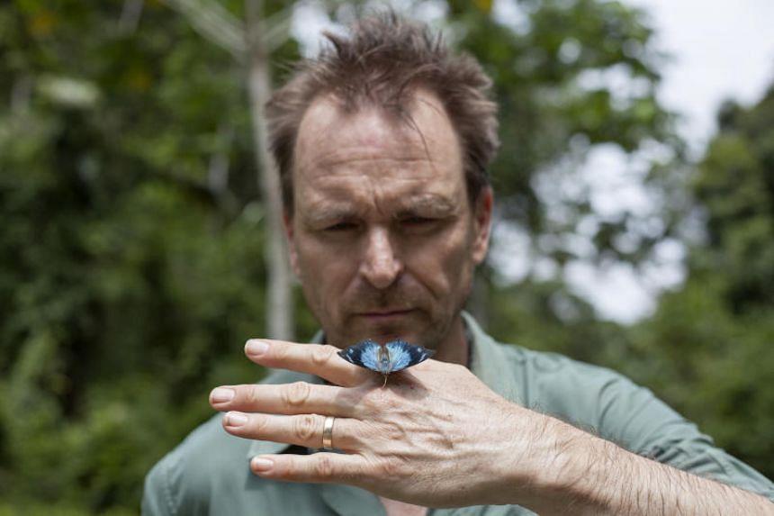TV personality Phil Keoghan began hosting National Geographic's Explorer last year.