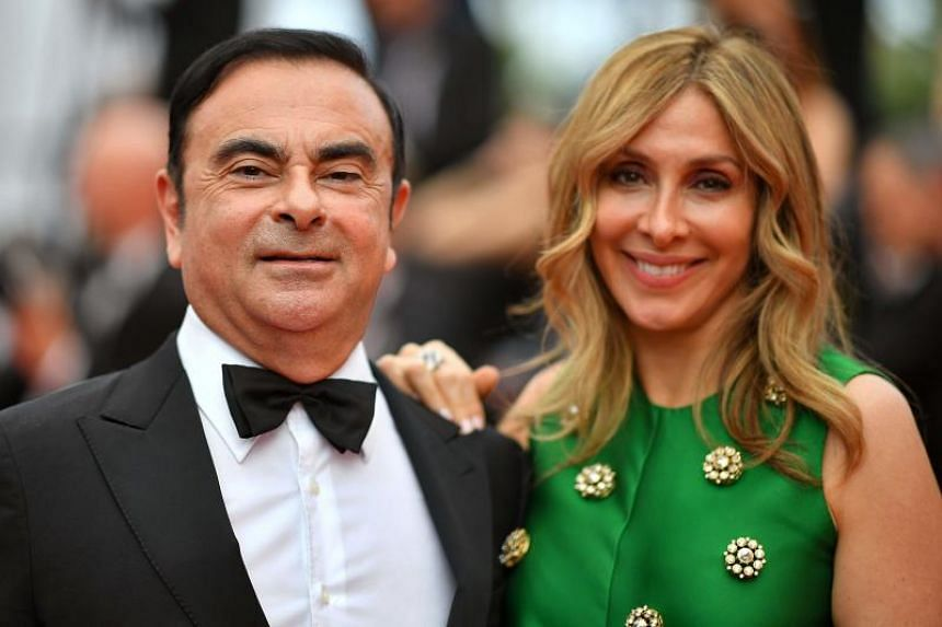 Former Renault and Nissan chief Carlos Ghosn and his second wife Carole threw a Marie Antoinette-themed dinner and party at the former royal residence at Versailles on October 8, 2016.