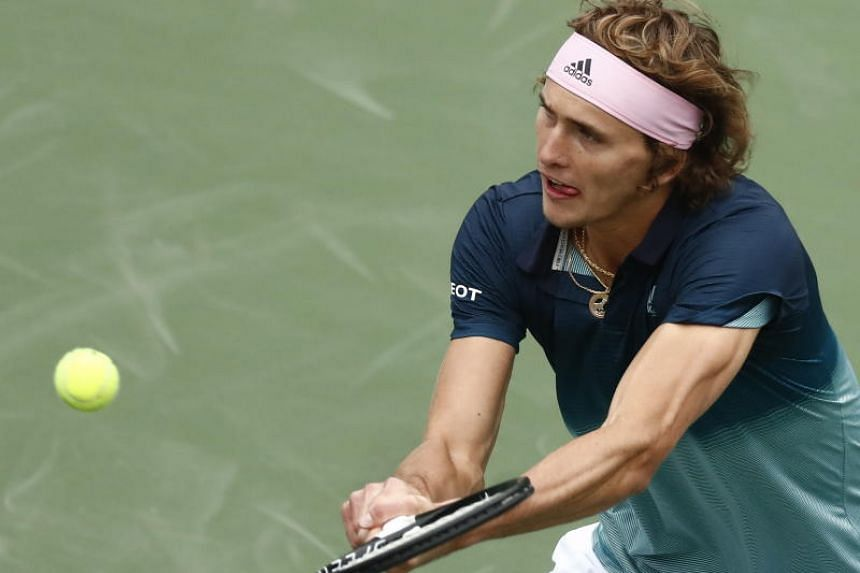 Jan-Lennard Struff (above), ranked 55th in the world, defeated world number three Alexander Zverev for the first time in five meetings.