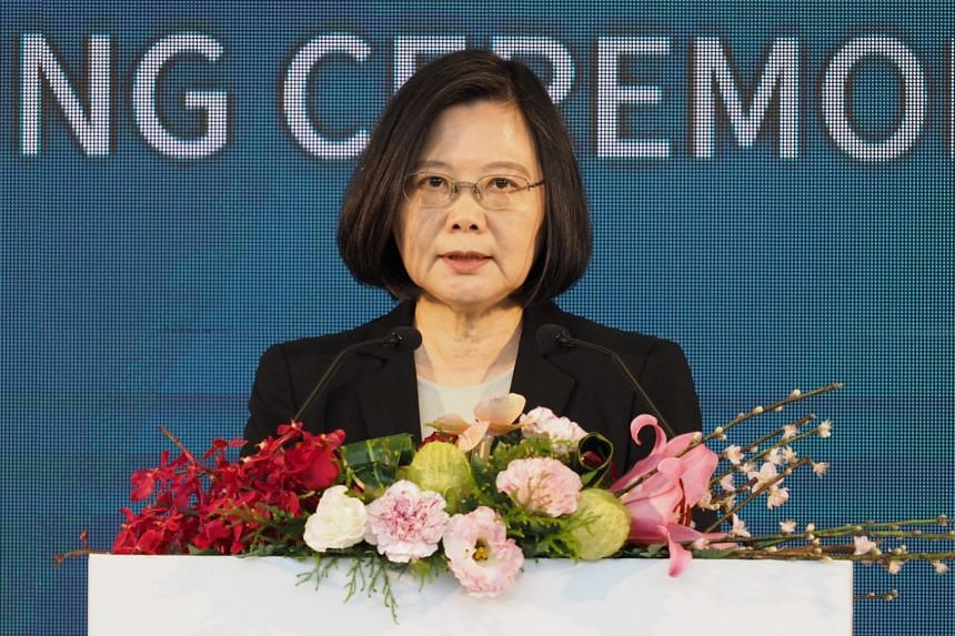 China's hostility to Taiwan has grown since Tsai Ing-wen's election as Beijing fears she wishes to push for the island's formal independence.
