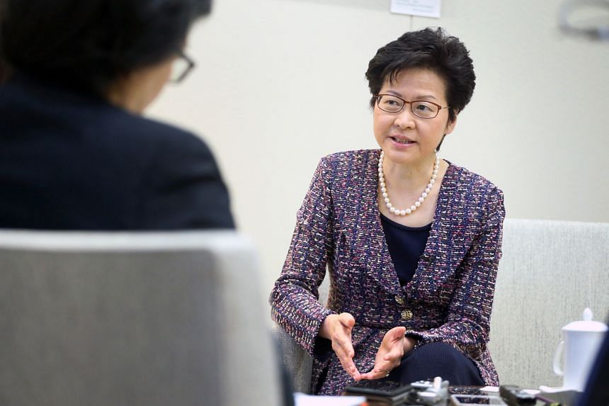 Hong Kong leader Carrie Lam said participation in the bay area will not weaken Hong Kong's independent tariff status.