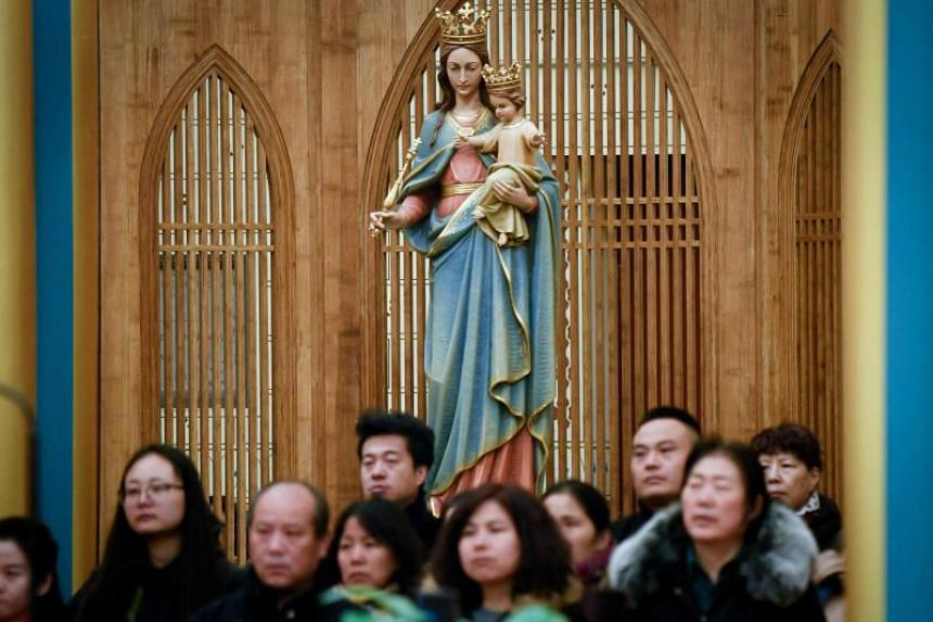In China, Protestants are split between unofficial and state-sanctioned churches, where Communist Party songs also feature in the order of service.