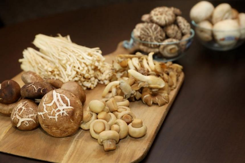 Researchers from NUS found that participants who ate more than two servings of mushrooms a week - equivalent to 300g or about half a plate - were 57 per cent less likely to have mild cognitive impairment.