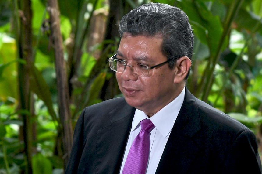 """Malaysian Foreign Minister Saifuddin Abdullah also slammed his Singaporean counterpart Vivian Balakrishnan for what he said was a """"below the belt"""" attack on Malaysia's governance."""