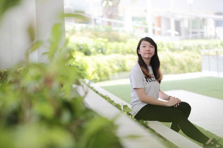 Ms Rachel Chung is among 24 students who completed the pilot Empower programme in February, and it was enough to push her to switch career plans from banking to tech.