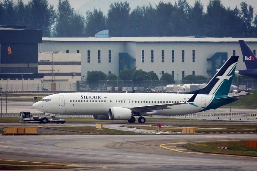 Singapore suspends operations of all Boeing 737 Max planes