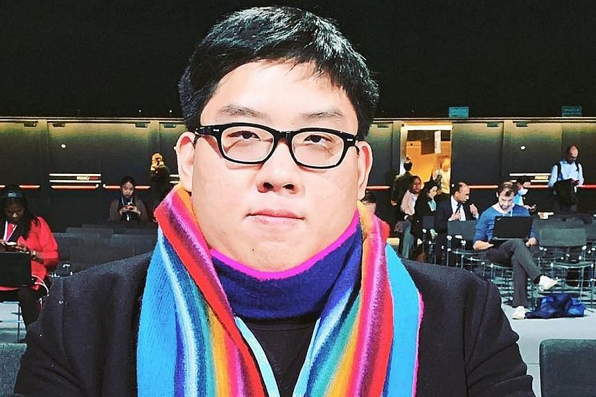 Law student Eric Bea said protests would be inappropriate in Singapore.