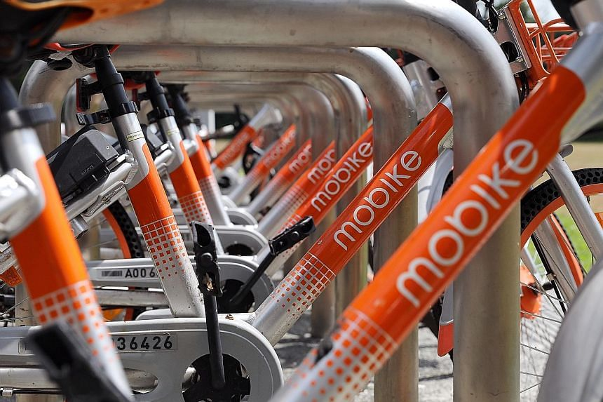 Mobike, the largest remaining bike-sharing operator, has submitted a proposal to the Land Transport Authority to leave the market.