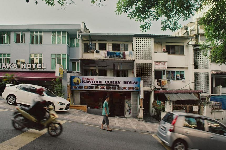 Cinema still from the film Guang.