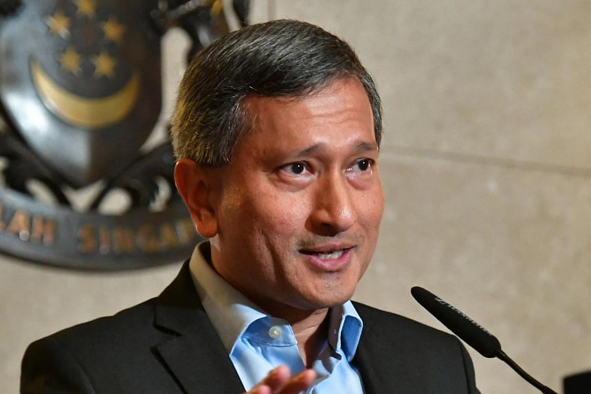 Foreign Minister Vivian Balakrishnan cheered the United States' continued commitment to Singapore and South-east Asia.