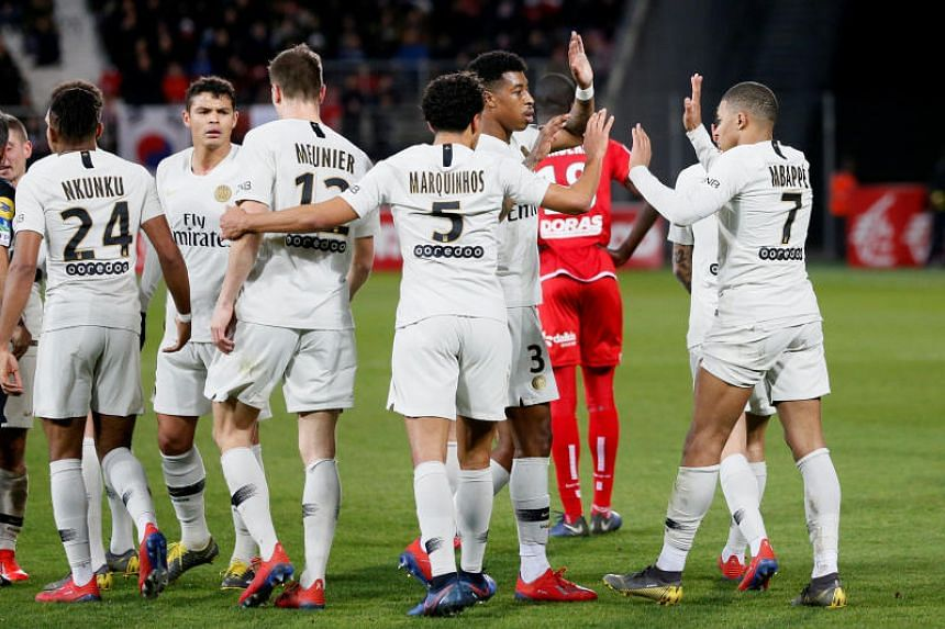 Paris Saint-Germain cruised to a 4-0 win in Dijon on March 12, 2019.