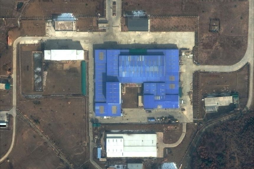 The Sanum-dong site, a missile and space launcher production facility, in North Korea. North Korea has been pushing ahead with its nuclear weapons programme after the failed Hanoi summit between leader Kim Jong Un and US President Donald Trump.