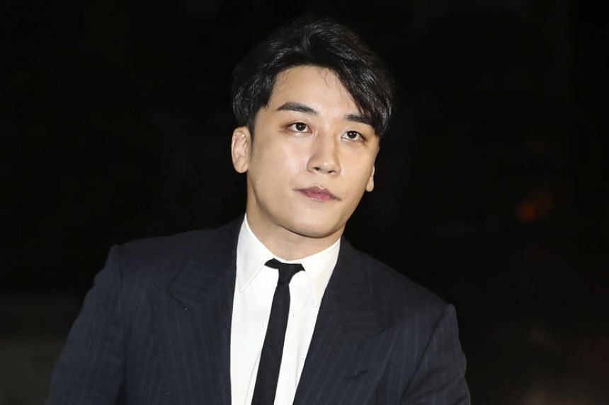 Lee Seung-hyun, who performs under the name Seungri, announced his exit from showbiz on March 11, 2019.