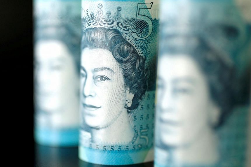 The pound stood flat at US$1.3064 and stuck to a narrow range.