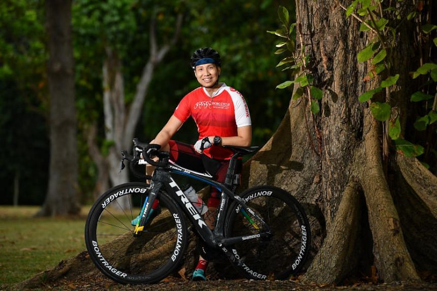 Shawn Low started cycling 10 years ago and normally covers at least 60km thrice a week.