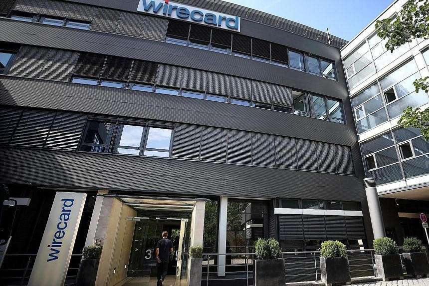 The Wirecard headquarters near Munich, Germany. Wirecard chief executive Markus Braun said yesterday that Mr Edo Kurniawan was still contactable. He did not explain why the HQ in Germany could maintain contact with Mr Kurniawan while the firm's Singa