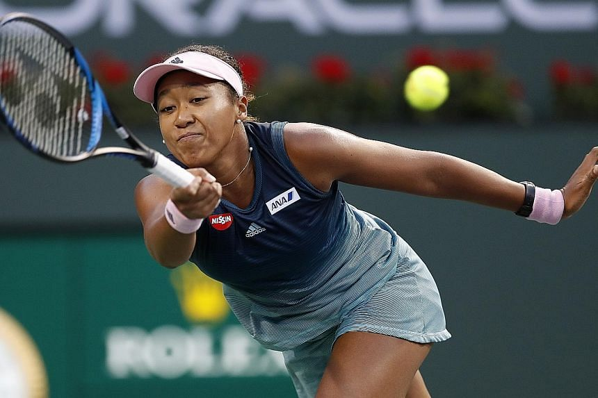 World No. 1 Naomi Osaka not playing at her best in her Indian Wells title defence when the Japanese lost to Belinda Bencic of Switzerland 6-3, 6-1 in the fourth round on Tuesday. The reigning US Open and Australian Open champion, however, said she ha