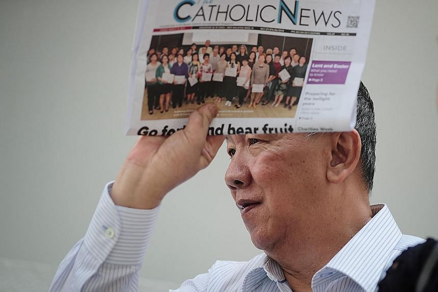 Francis Xavier Wan Kwong Yee, who was a full-time volunteer at Catholic Spirituality Centre, embezzled more than $600,000 by, among other things, forging the organisation's cheques.