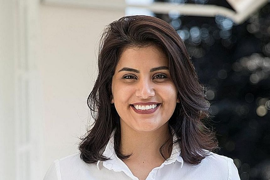 Loujain Al-Hathloul, who called for an end to the driving ban, is among some 10 women appearing in court in Riyadh.