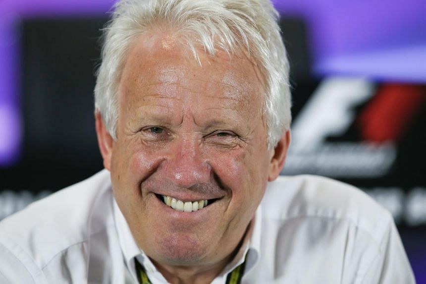 Formula One race director Charlie Whiting died in Melbourne of a pulmonary embolism.