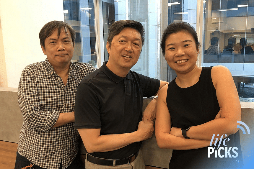 (From left) ST journalists John Lui and Wong Ah Yoke share with Life Picks podcast host Melissa Sim the best lifestyle tips this week.