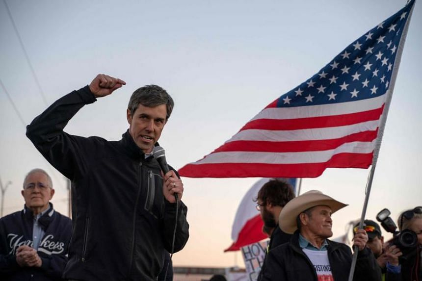 "Democrat Beto O'Rourke said one of the reasons he was entering the race is that ""the interconnected crises in our economy, our democracy and our climate have never been greater."""