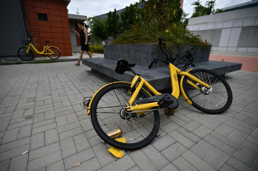 Chinese bike-sharing firm ofo's  licence is currently suspended in Singapore after it missed a deadline to meet LTA's regulatory requirements.