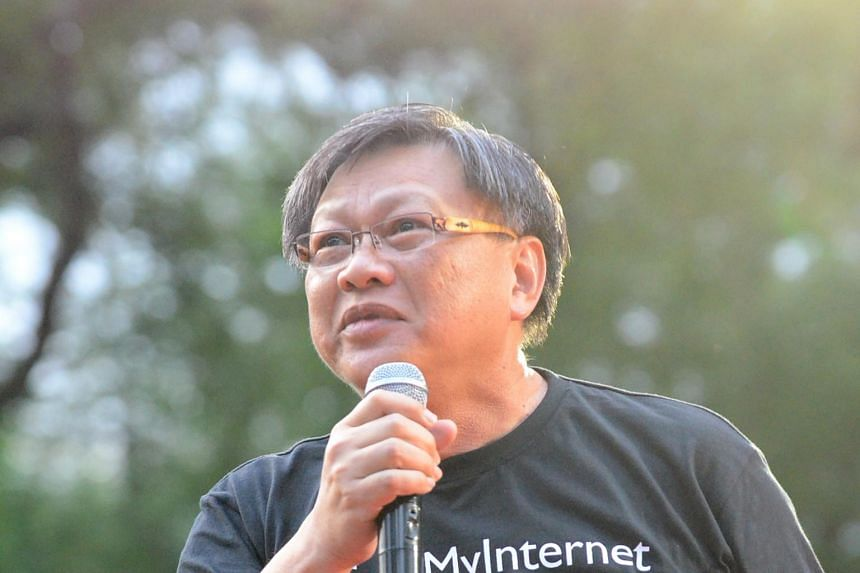 Blogger Leong Sze Hian (pictured) was sued by PM Lee for libel last November, over an article that he shared on his Facebook page which alleged that the Prime Minister had helped to launder money from 1MDB.